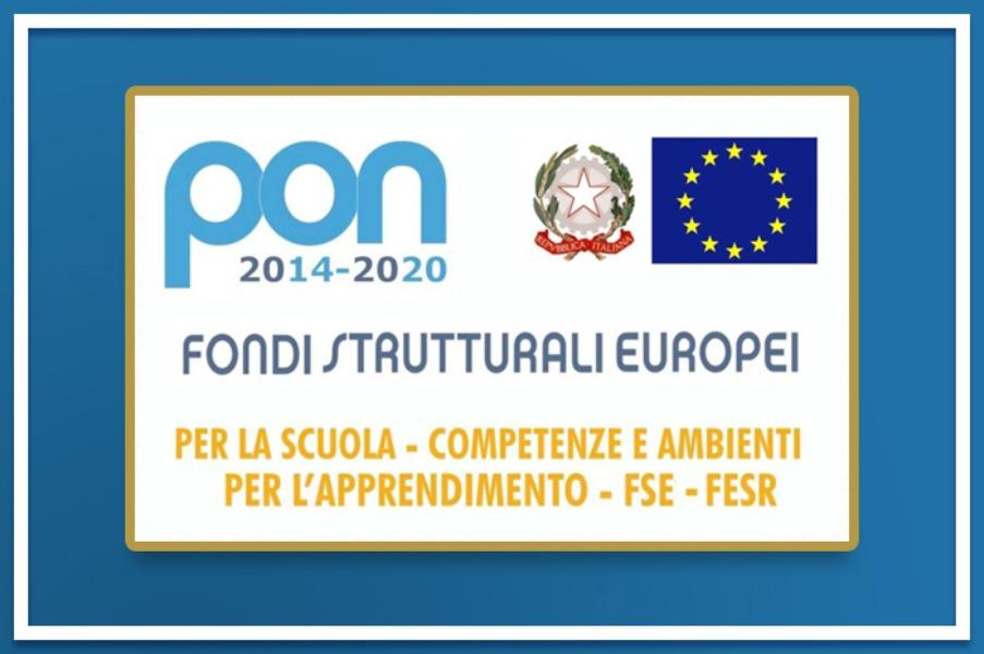 Pon 2014-20 Fondi Strutturali Europei